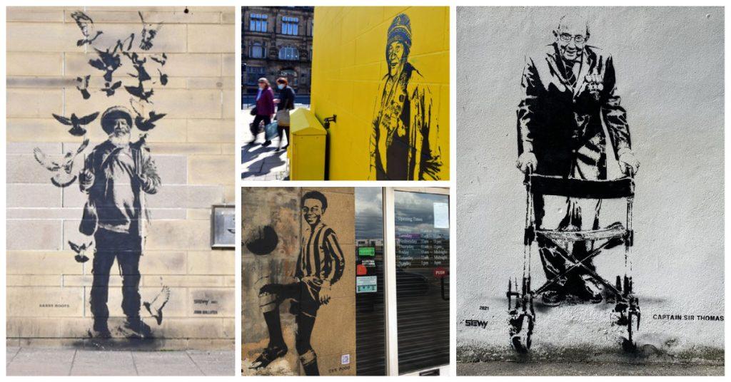 """""""Polska Anna"""" znalazła się wśród ikon Bradforda obchodzonych w ramach Street Art Project"""