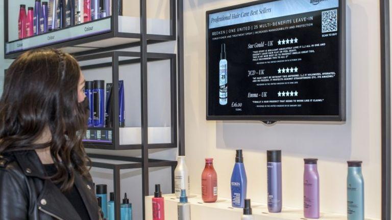 Salon oferuje & # 39;  Technologia Point & Learn & # 39;  Do produktów.  Fot .: amazon