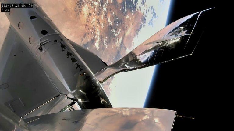 Rakieta Virgin Galactic osiągnęła margines kosmiczny
