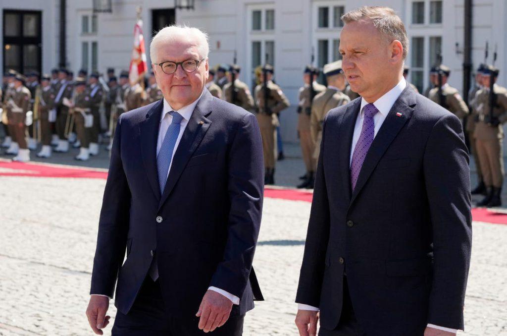 Prezydenci Niemiec i Polski spotykają się w celu uczczenia traktatu z 1991 r. Rosja Berlin Europa Andrzej Duda Frank-Walter Steinmeier