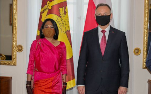 Prezydent RP potwierdza rozszerzenie współpracy bilateralnej między Polską a Sri Lanką